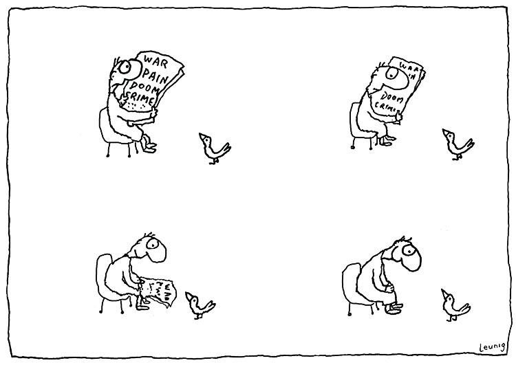 Leunig cartoon, used with permission